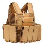 Army Fans Tactical Vest - Tan