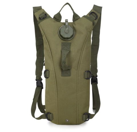 3L Tactical Camel Hydration Pouch Backpack - OD Green