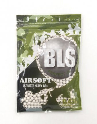 BLS 0.43g Precision BB White (1000rds) - New