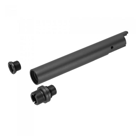 "Laylax NINE BALL Hi Capa 5.1 ""2 Way Fixed"" Non-Recoiling Outer Barrel (Black)"
