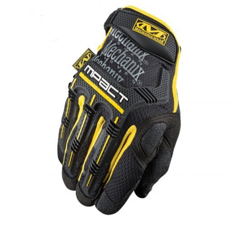TACTICAL GLOVES FULL FINGER - Yellow