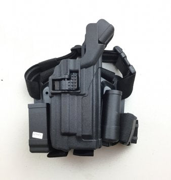 Airsoft drog leg holster M9 Torch version