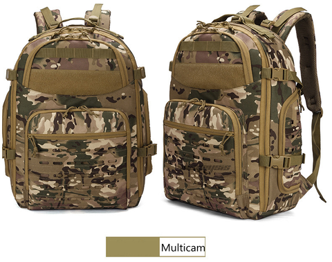 Outdoor Tactical Backpacks - Multicam