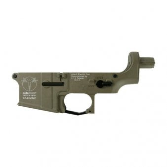 ICS UK1 HOG Lower Receiver - Tan