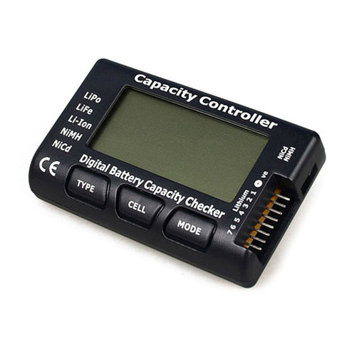 CellMeter-7 Digital Battery Capacity Checker /Battery Voltage Te