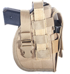 Tactical Universal Holster with Beltloop system - Tan