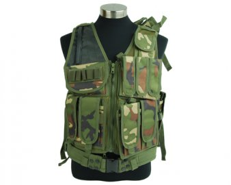 Airsoft Tactical Mesh Designed with Holster Vest