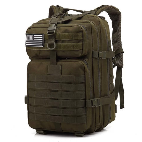 Tactical Backpacks Military 900D Waterproof Outdoor Sport -  OD GREEN