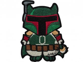 Start War Embrioidered Patch Shibe Fett