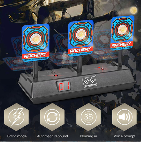 Electric Target Scoring Auto Reset  For Gel Blaster