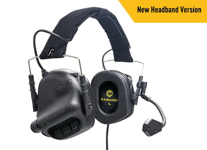 OPSMEN EARMOR -M32 Electronic Communication Hearing Protector - Black