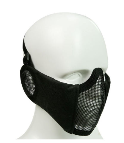 WST Steel lower Face Mask with Padding +Ear guard