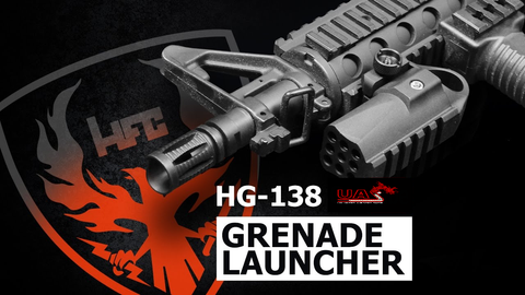 HFC HG-138 Mini Tactical Grenade Launcher ( BK )
