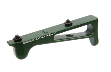 G&G 45 degree Grip for KeyMod rail system (Green)