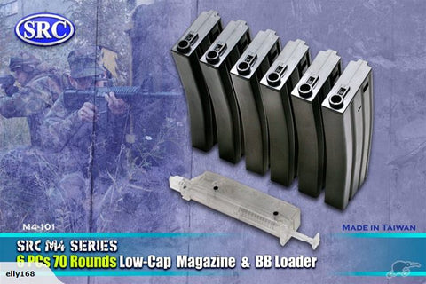 SRC M4 Magazine set (Low-Cap) 70 Rounds
