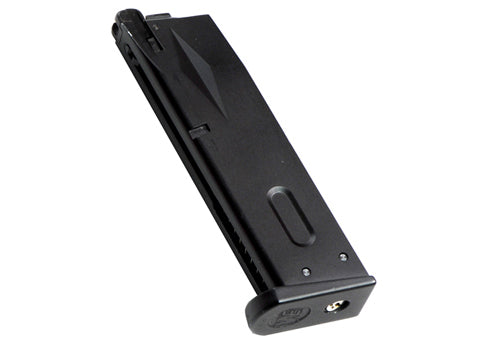 WE M92 Gas Magazine Black
