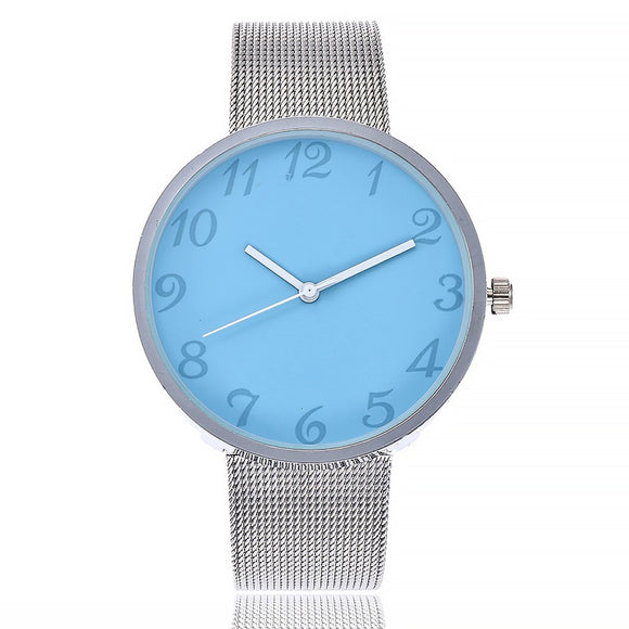 Quartz Stainless Steel Band Watch