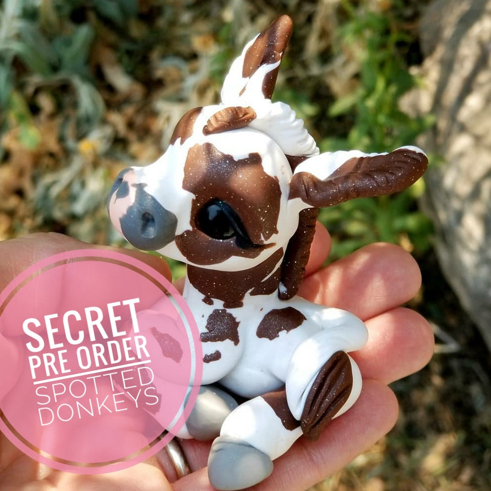 SECRET PREORDER Tumble Spotted Donkey