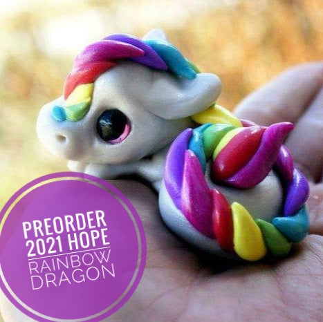 PREORDER 2021 HOPE rainbow dragon