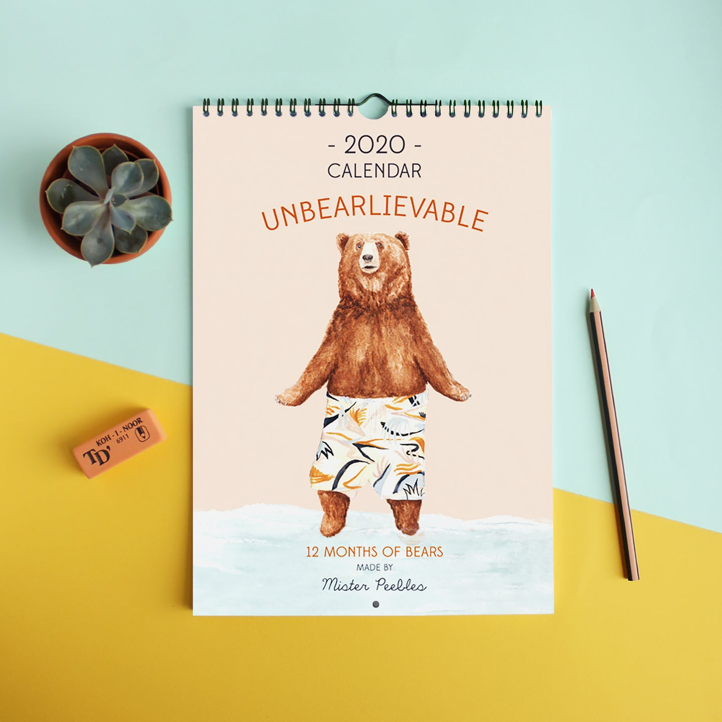 SALE! 2020 'Unbearlievable' Bear Calendar