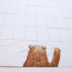 SALE! 2020 Bear Year Planner