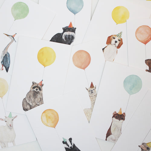 Balloon Animal Cards - Blank