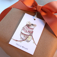 Christmas Gift Tags - Chris Mouse