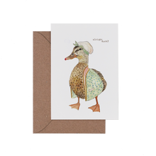 Alright Duck Card