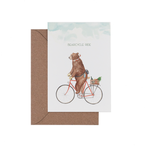 Bearcycle Ride Card
