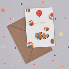 Birthday Clown Card