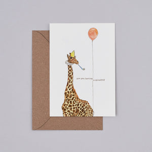 Are You Having a Giraffe Card