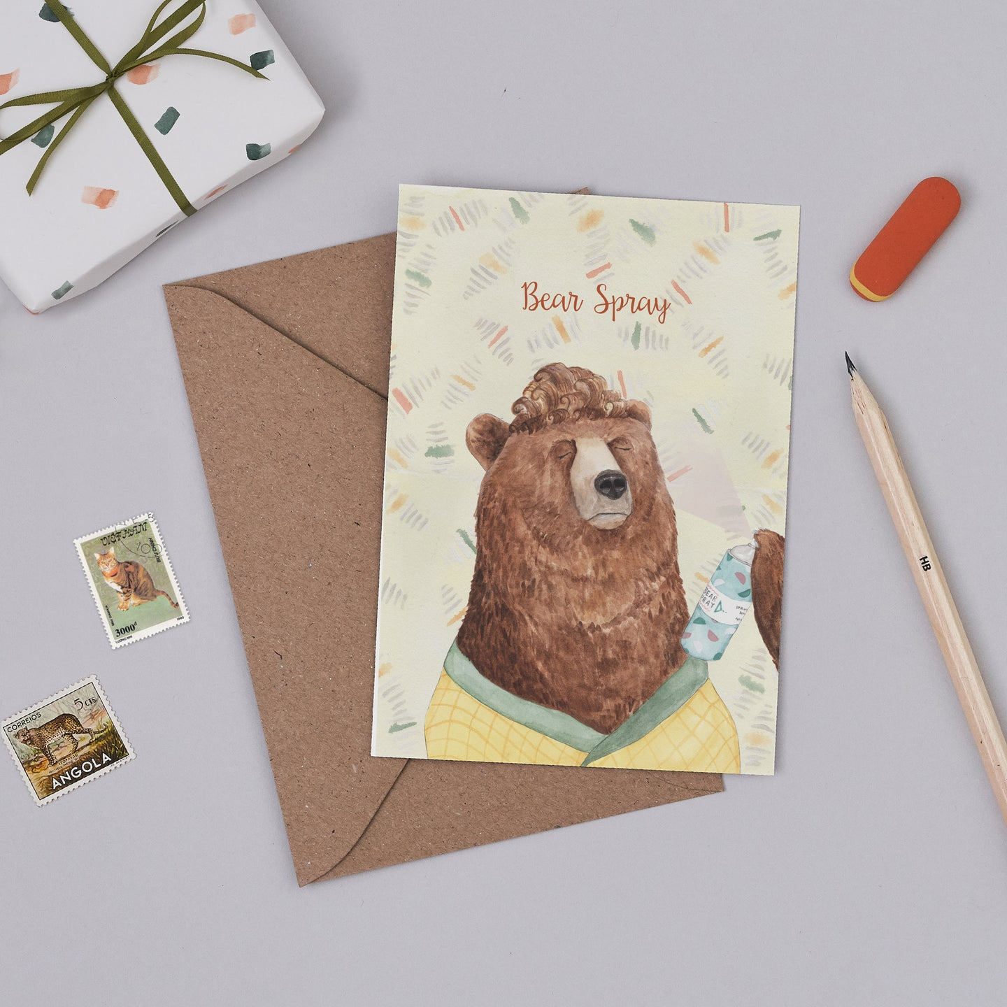 Bear Spray Card