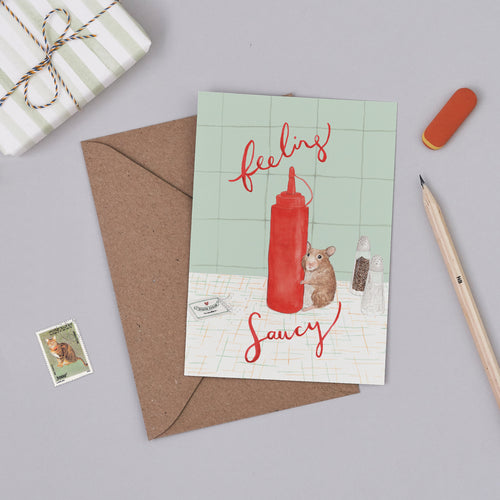 Feeling Saucy Card