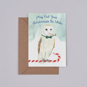 Owl Your Christmasses Christmas Card