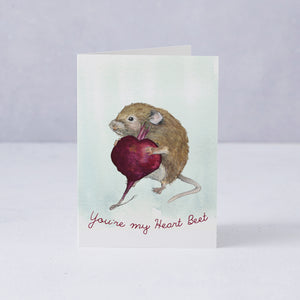 You're My Heart Beet Card