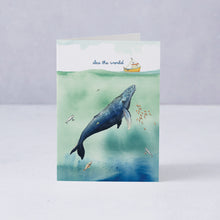 Sea The World Card