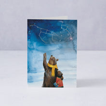 Ursa Major + Ursa Minor Card