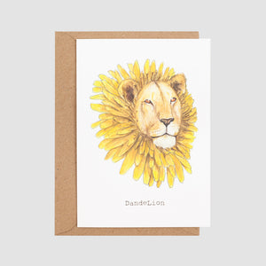 Dande Lion Card with envelope