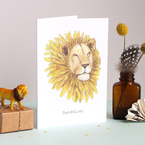 Dande Lion Card