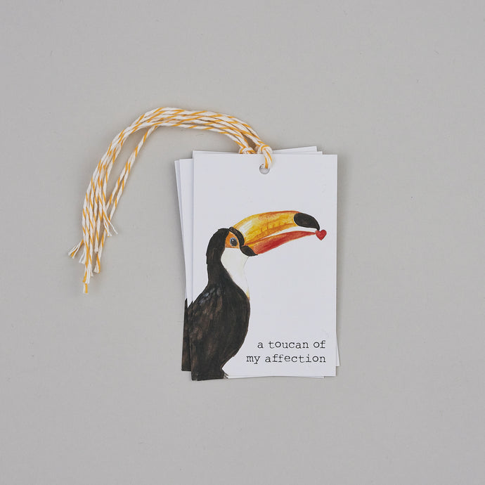 Toucan of My Affection Gift Tags