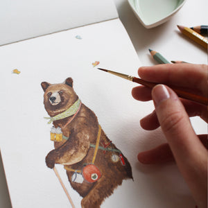 Here Bear and Everywhere Illustration