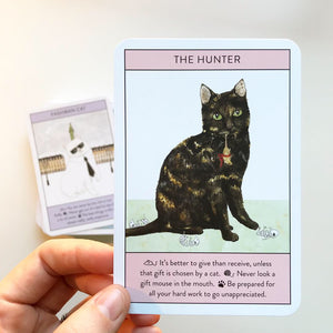 Cat Gurus Oracle Cards