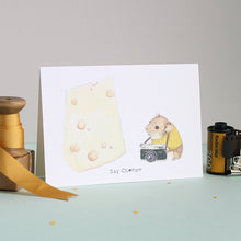 Say Cheese Greetings Card