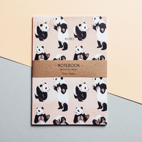 Panda Party Notebook