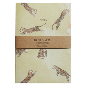 Leaping Leopards Notebook