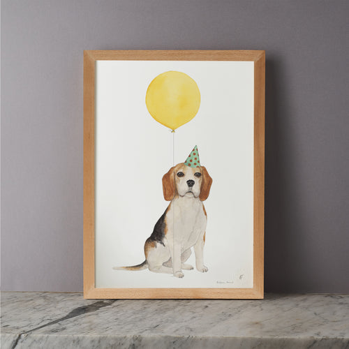 Balloon Animal Print - Beagle