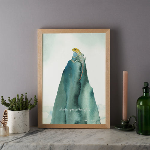 Scale Great Heights Print