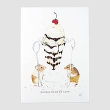 Sundae Kind of Love Print