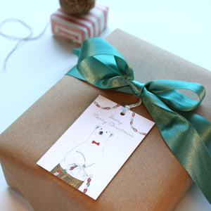 Christmas Gift Tags - Beary Merry Christmas