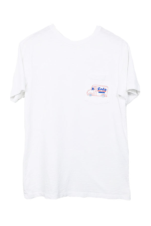 Blvd. Deli Tee Heavyweight pocket tee front design